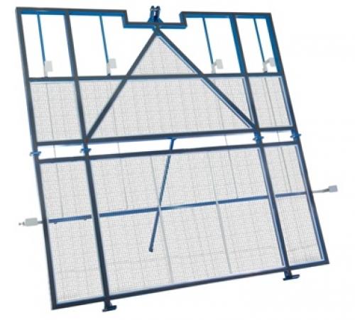 Pinça lateral para vidro jumbo