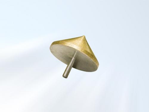 pião escareador diamantado